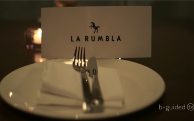 Host Jeremy Redmore dines out at La Rumbla in Arrowtown